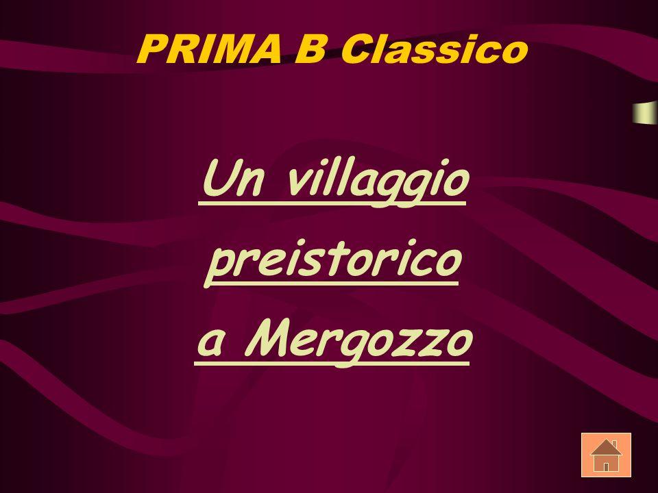 PRIMA B Classico Un villaggio preistorico a Mergozzo