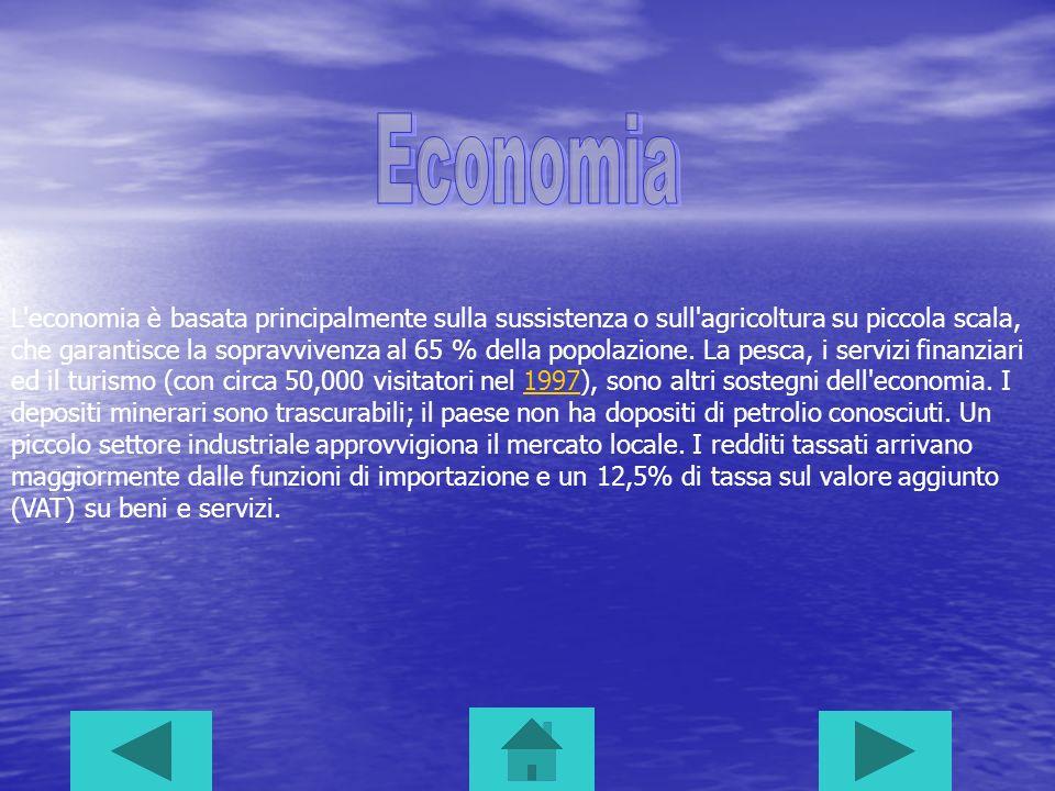 L'economia è basata principalmente sulla sussistenza o sull'agricoltura su piccola scala, che garantisce la sopravvivenza al 65 % della popolazione. L
