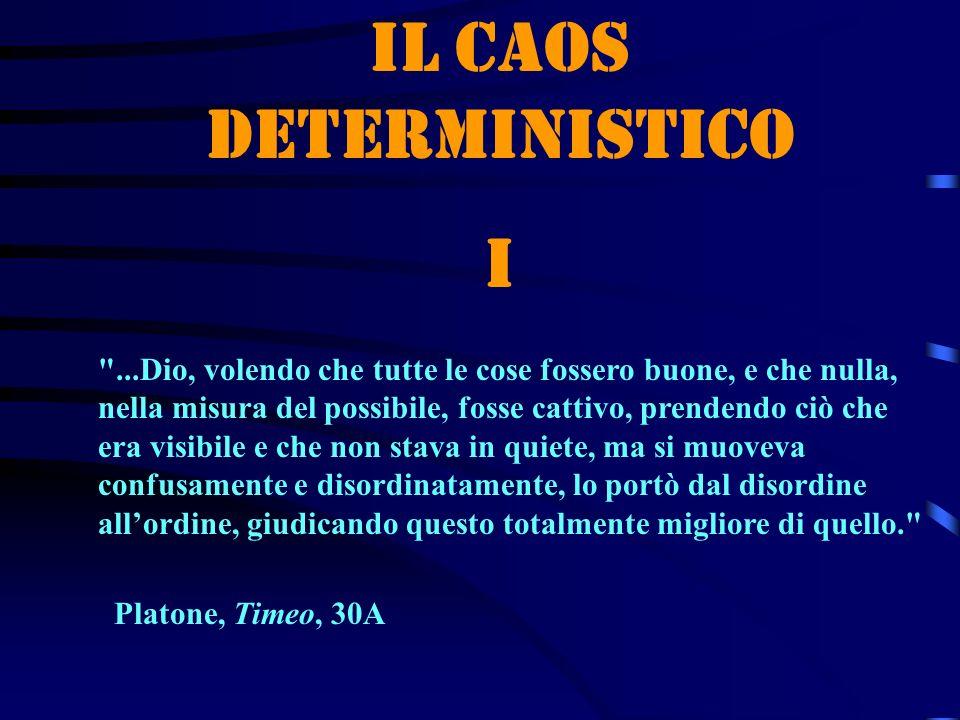 Il caos deterministico I