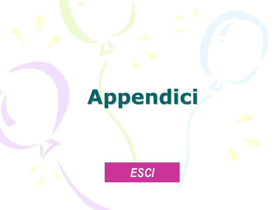 Appendici ESCI