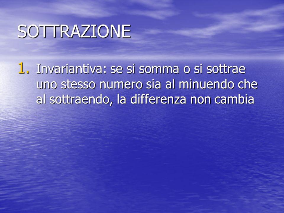 SOTTRAZIONE 1.