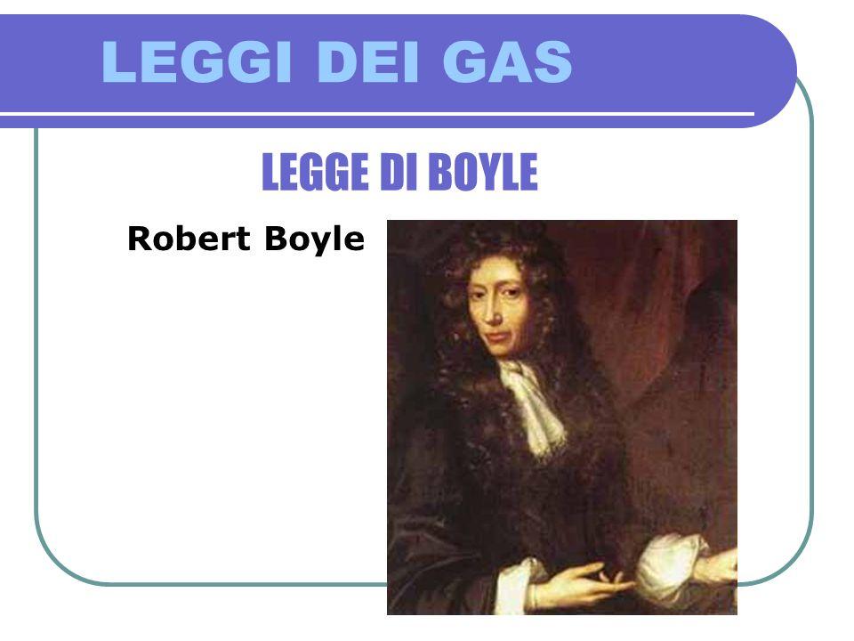 LEGGI DEI GAS LEGGE DI BOYLE Il frontespizio della sua opera più famosa, Il chimico scettico, contro lalchimia