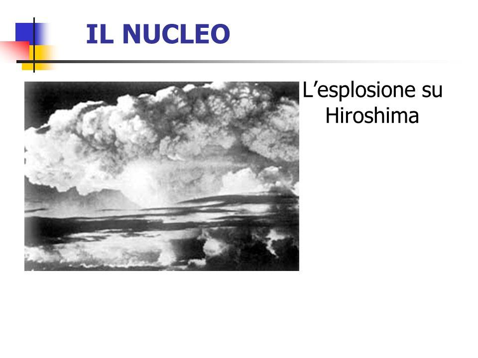 IL NUCLEO Lesplosione su Hiroshima