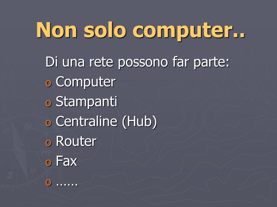 Una volta entrati… …si lavora come su un qualsiasi computer…