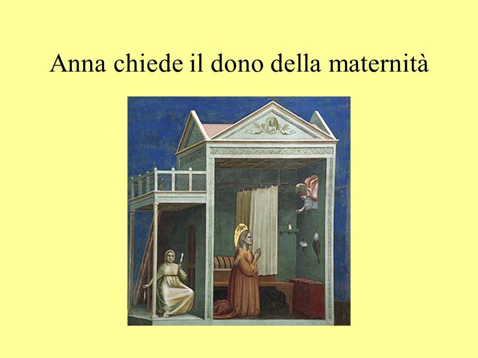 Anna chiede il dono della maternità