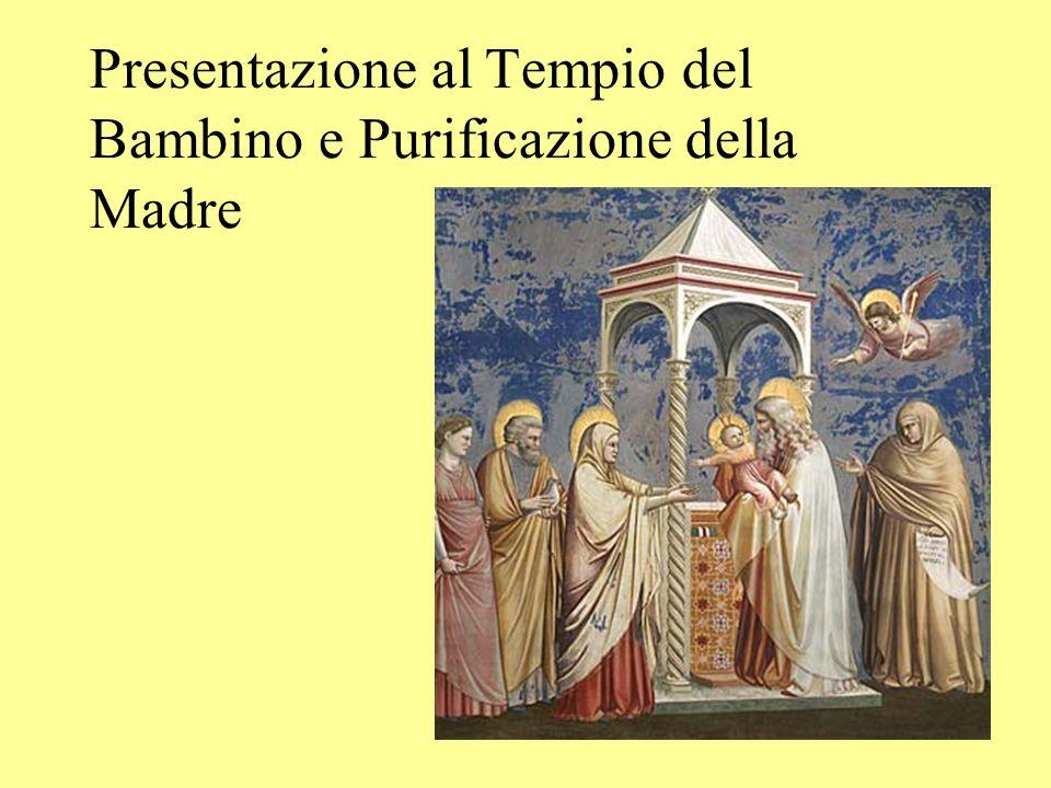 Presentazione al Tempio del Bambino e Purificazione della Madre