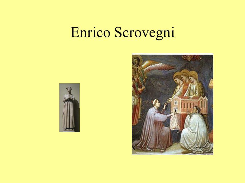 Ispirazione e fonti Giotto dipinse l intera superficie con un progetto iconografico e decorativo unitario, Ispirazione teologica : Alberto da Padova, agostiniano.