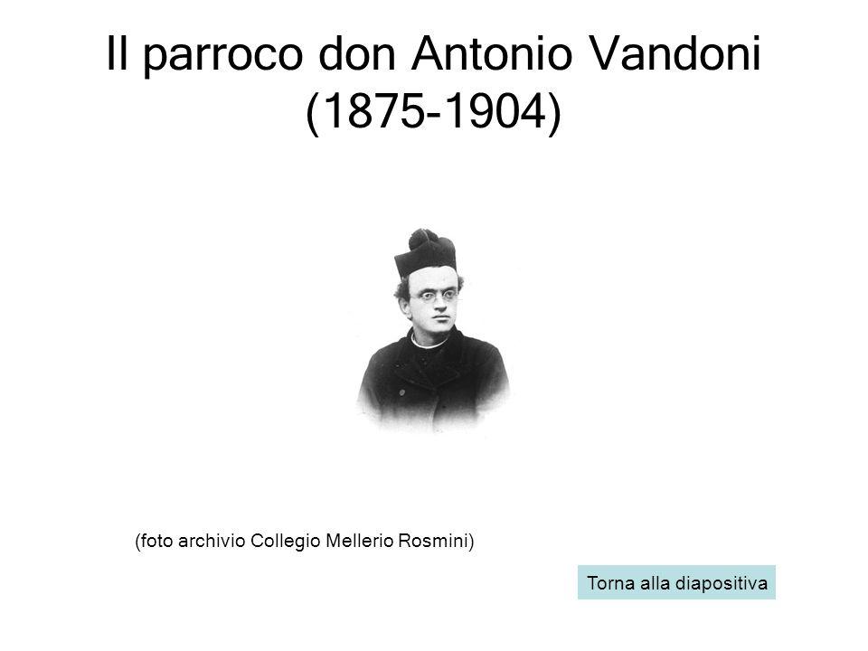 (foto archivio Collegio Mellerio Rosmini) Torna alla diapositiva