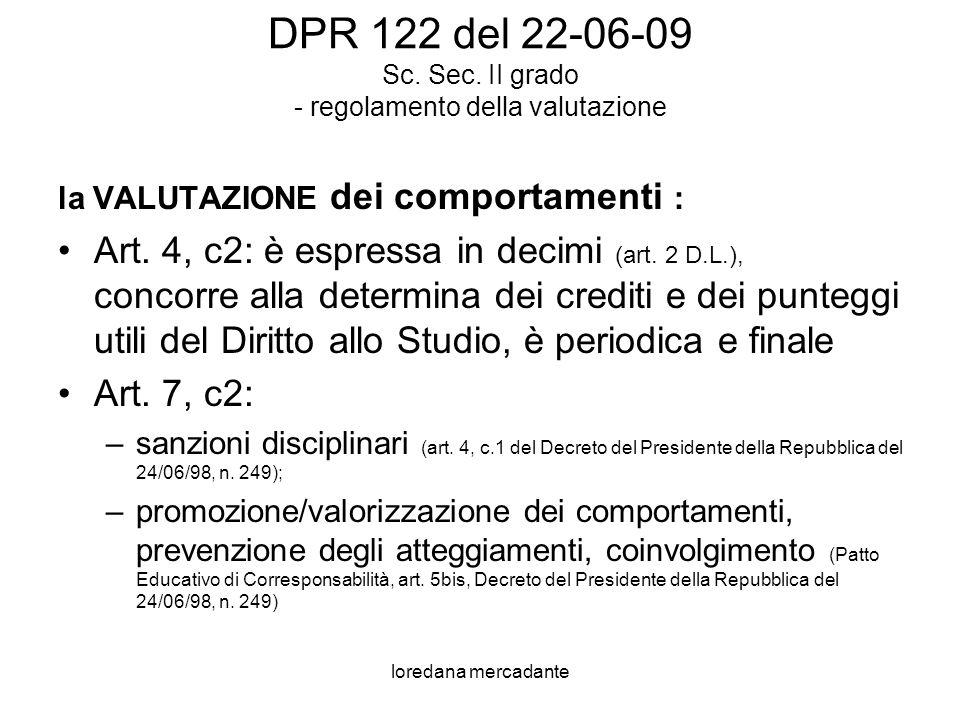 loredana mercadante VALUTAZI ONE dei comportam enti di P. Cattaneo