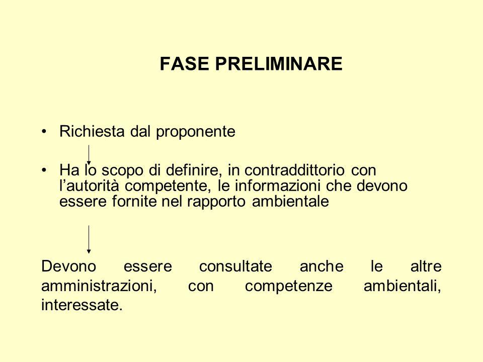 Insieme alla documentazione necessaria per la predisposizione di un piano o di un programma deve essere redatto un RAPPORTO AMBIENTALE Il R.A.