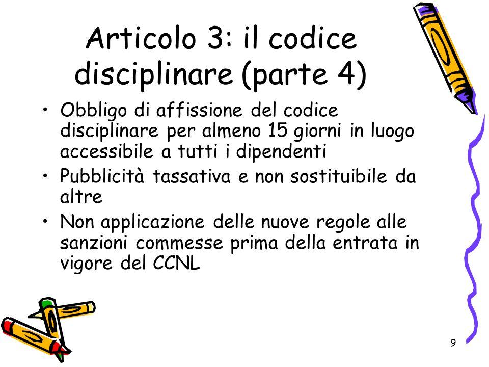 20 Articolo 10: norma programmatica Rinvio al CCNL del biennio economico 2008/2009 della: 1)Attuazione del memorandum sul pubblico impiego del 6 aprile 2007; 2)Semplificazione del calcolo delle risorse per la contrattazione decentrata integrativa e per la struttura della retribuzione; 3)Risoluzione consensuale del rapporto di lavoro; 4)Attuazione del finanziamento delle posizioni organizzative in tutti gli enti con oneri a carico del bilancio (articolo 14 CCNL 9.5.2006) 5)Sistema di classificazione del personale (in particolare per docenti, ufficiali di stato civile ed anagrafe, addetti alla comunicazione, categorie B3 e D3) 6)Predisposizione del testo unificato