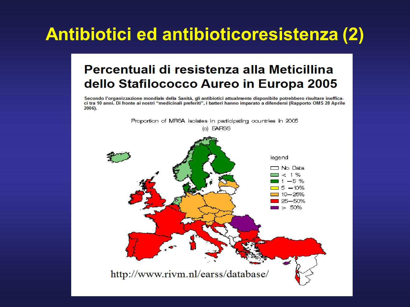 Consumo di antibiotici in Europa