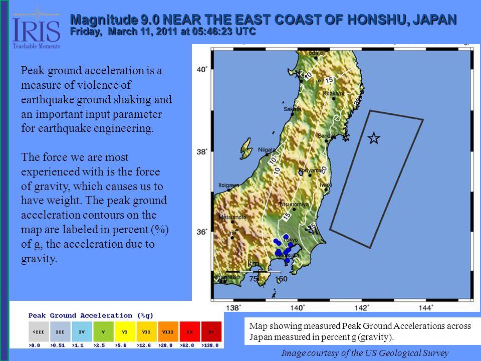 Misura della deformazione e previsione Mappe geologiche sono utilizzate per definire segmenti di faglia attivi Sono effettuate assunzioni sulla propagazione della rottura di assegnati segmenti Poichè la deformazione si lega alla magnitudo, per una assegnata lunghezza di segmenti, ciò fornisce il terremoto massimo atteso La relazione tra M s e la lunghezza della frattura L: M s = 6.10 + 0.70 log L
