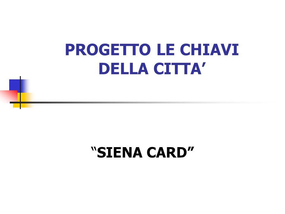 PROGETTO LE CHIAVI DELLA CITTA SIENA CARD