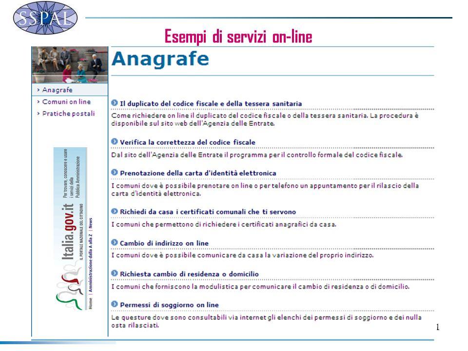 51 Esempi di servizi on-line