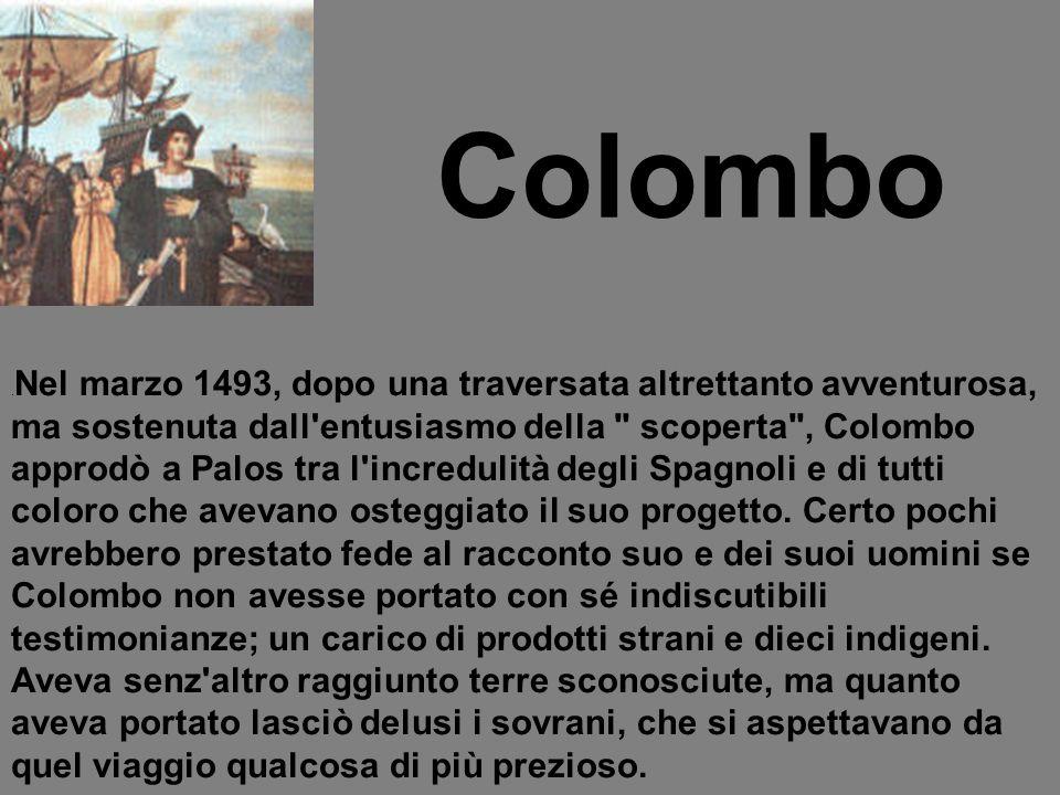 Nel giro di pochi anni tra il 1493 e il 1500, altre quattro spedizioni seguirono la prima.