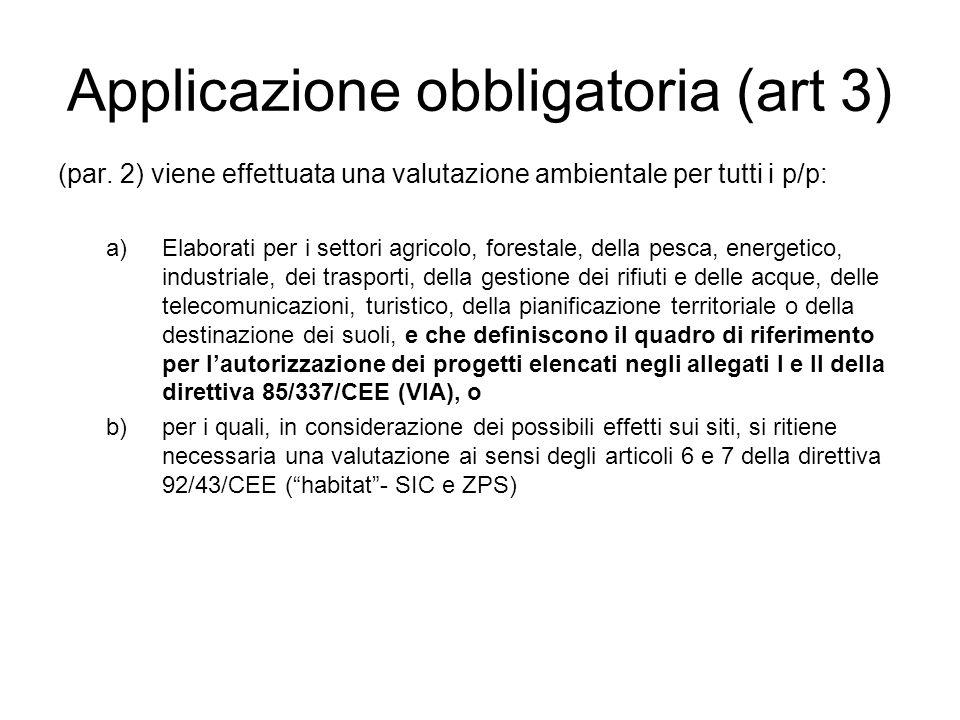 Applicazione obbligatoria (art 3) (par.