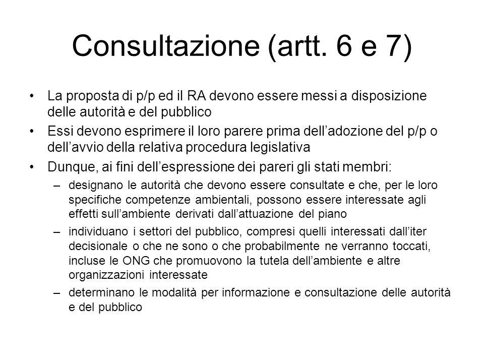 Consultazione (artt.