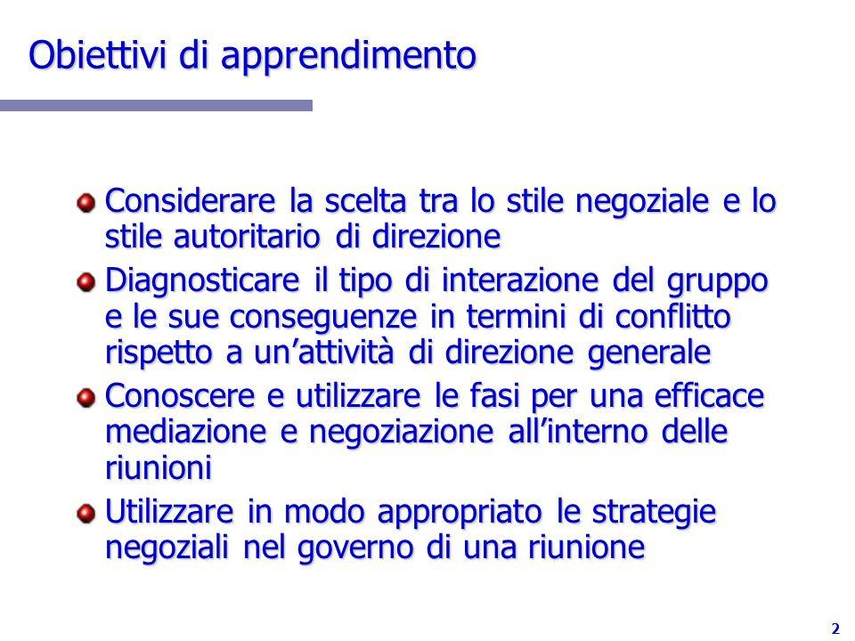 23 Fase 2: la Scelta della Strategia Negoziale E molto importante lesito sulloggetto della trattativa .