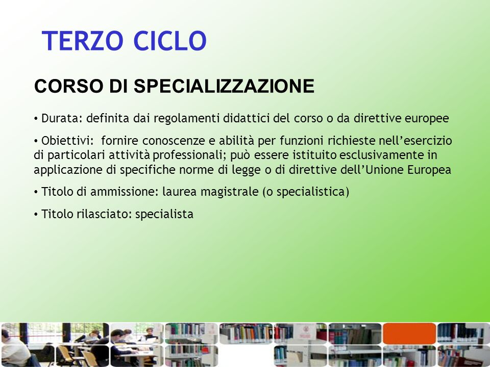Valutare la propria preparazione in vista del percorso universitario: Almalaurea www.almalaurea.it/lau/orientamento/