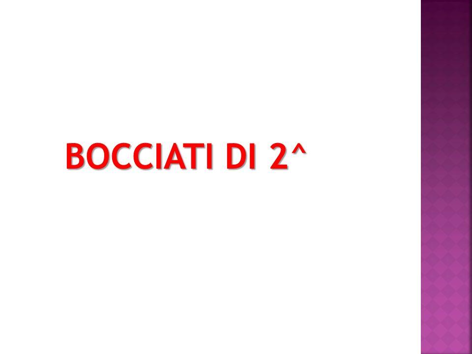 BOCCIATI DI 2^