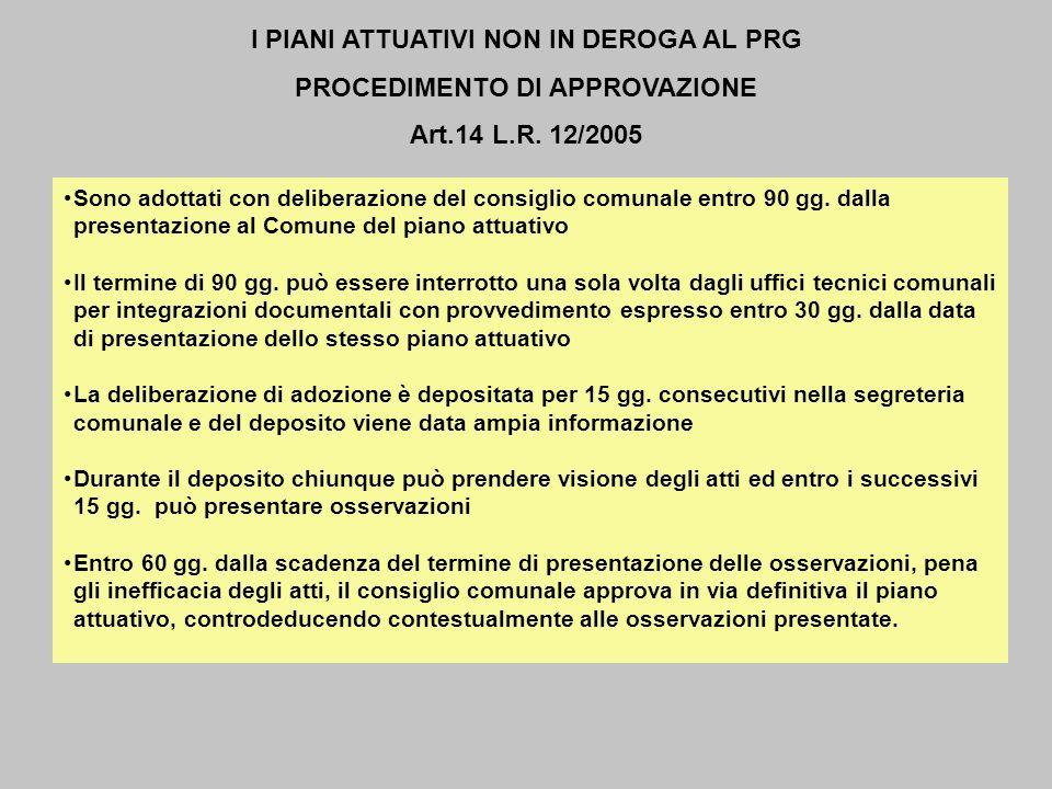II MODULO LA DESTRUTTURAZIONE DELLE LOGICHE PROGETTUALI DEL PGT I P.I.I.