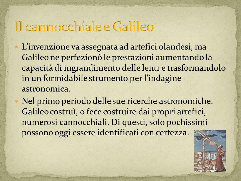 L'invenzione va assegnata ad artefici olandesi, ma Galileo ne perfezionò le prestazioni aumentando la capacità di ingrandimento delle lenti e trasform