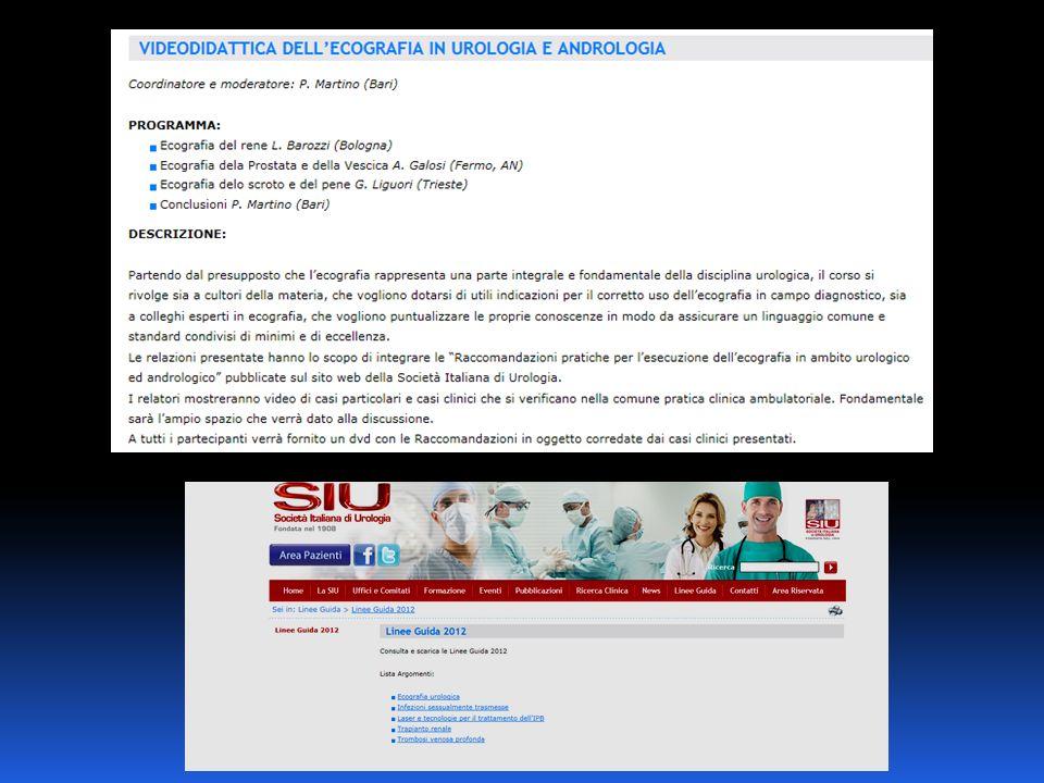Department of Emergency and Organ Transplantation Urology, Andrology and Kidney Transplantation Unit University of Bari – Italy Dir.
