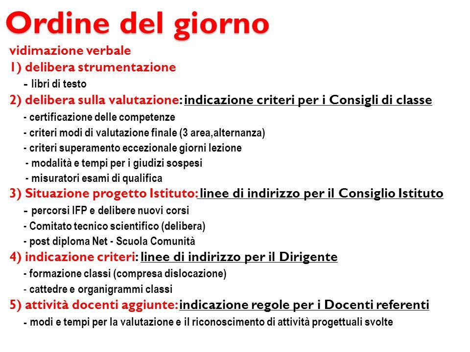 3) Situazione progetto Istituto A) percorsi IFP B) Comitato tecnico scientifico (delibera) C) orientamento post diploma green energy Scuola Comunità