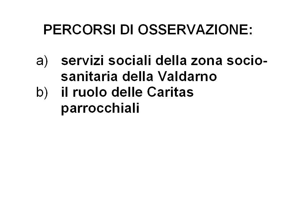 1. I servizi sociali comunali