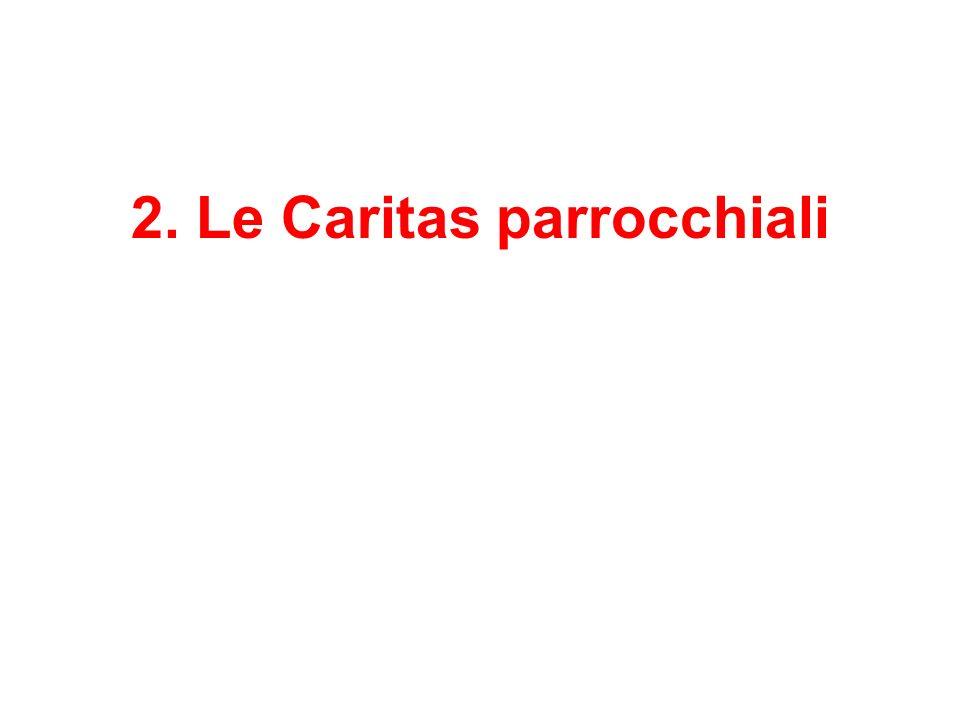 2. Le Caritas parrocchiali
