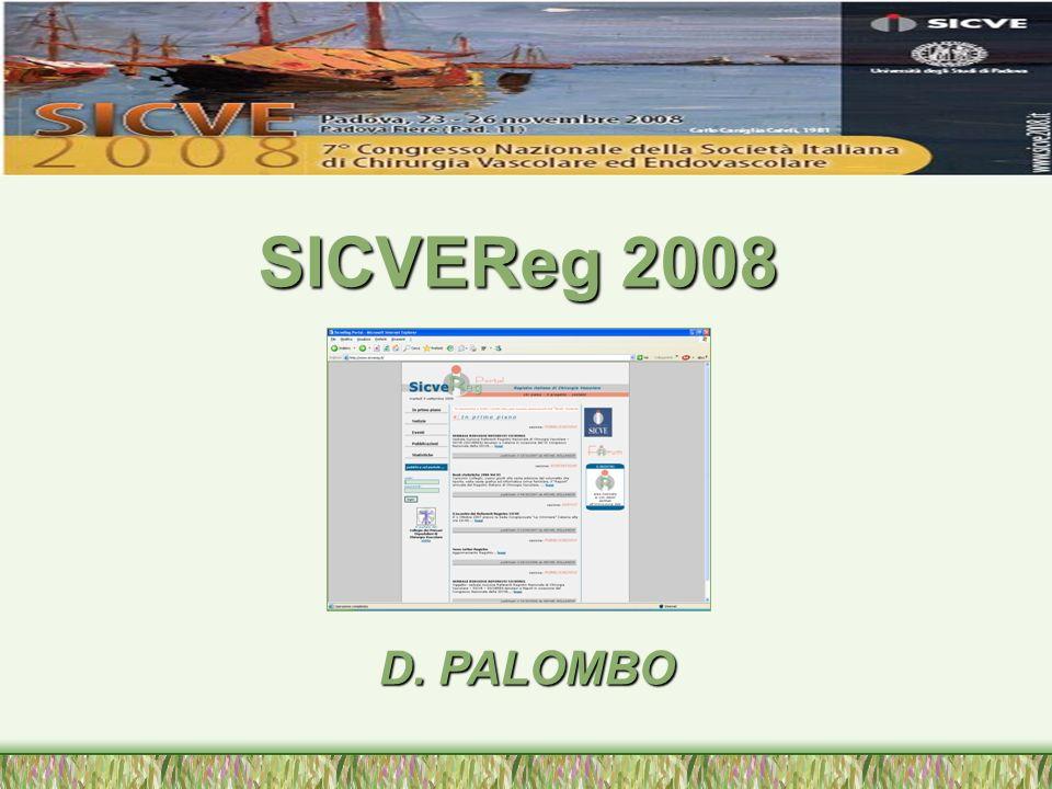 Nel 1999 proponemmo ed avviammo, con laiuto di pochi e lo scetticismo di molti, la prima pubblicazione dellembrione di un Registro Nazionale relativo ai dati del 1998.