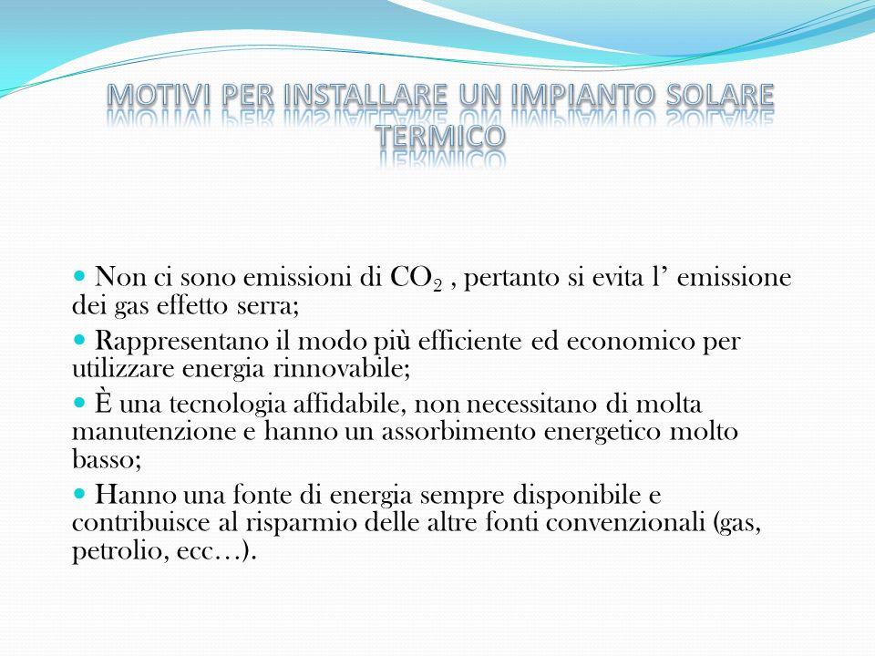 Non ci sono emissioni di CO 2, pertanto si evita l emissione dei gas effetto serra; Rappresentano il modo pi ù efficiente ed economico per utilizzare