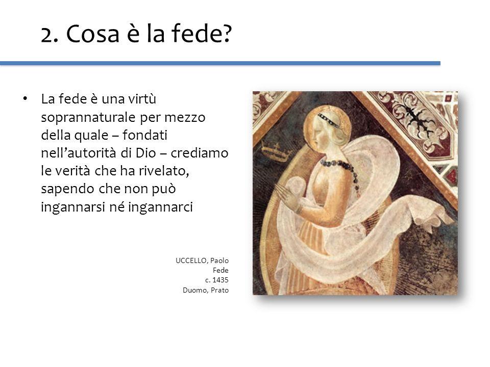 3.La fede è un regalo di Dio La fede è un dono soprannaturale, un regalo di Dio.