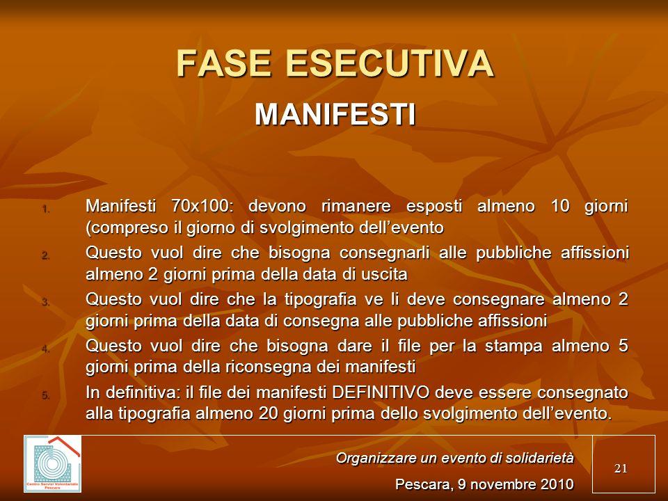 21 FASE ESECUTIVA MANIFESTI 1.