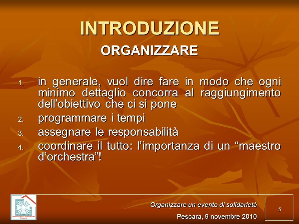36 A DOMANI! Organizzare i contenuti del sito Internet Pescara, 12 novembre 2009