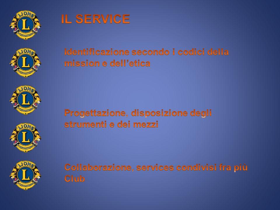 LE DIMENSIONI DEL BISOGNO UTILIZZO AL MEGLIO DI RISORSE E COMPETENZE ORIENTATE AD UN RISULTATO COMUNE 5.2.Collaborazione, services condivisi fra più clubs COMPORTANO IL NETWORK SENSIBILE ED ACCORTA INDIVIDUAZIONE DEL SERVICE PUBBLICIZZAZIONE DEL SERVICE PRESSO I CLUBS VEICOLAZIONE DEI SERVICES SUI MEDIA COINVOLGIMENTO DELLE ISTITUZIONI COME FACILITATORI DEL PROCESSO DIREZIONE E CONDUZIONE DELLE VARIE FASI DEL SERVICE
