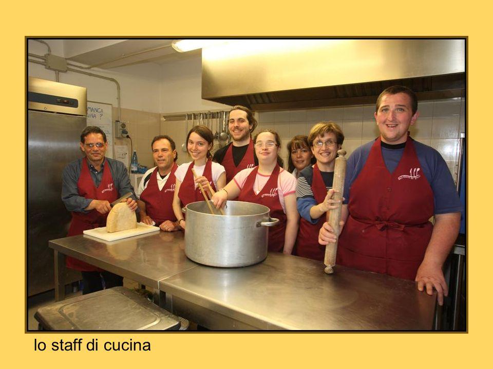lo staff di cucina