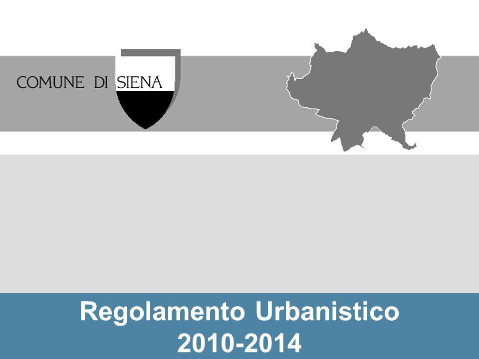 Le previsioni residenziali del RU articolate nelle UTOE: rapporto tra interventi di nuova edificazione e di recupero (volumi in percentuale)