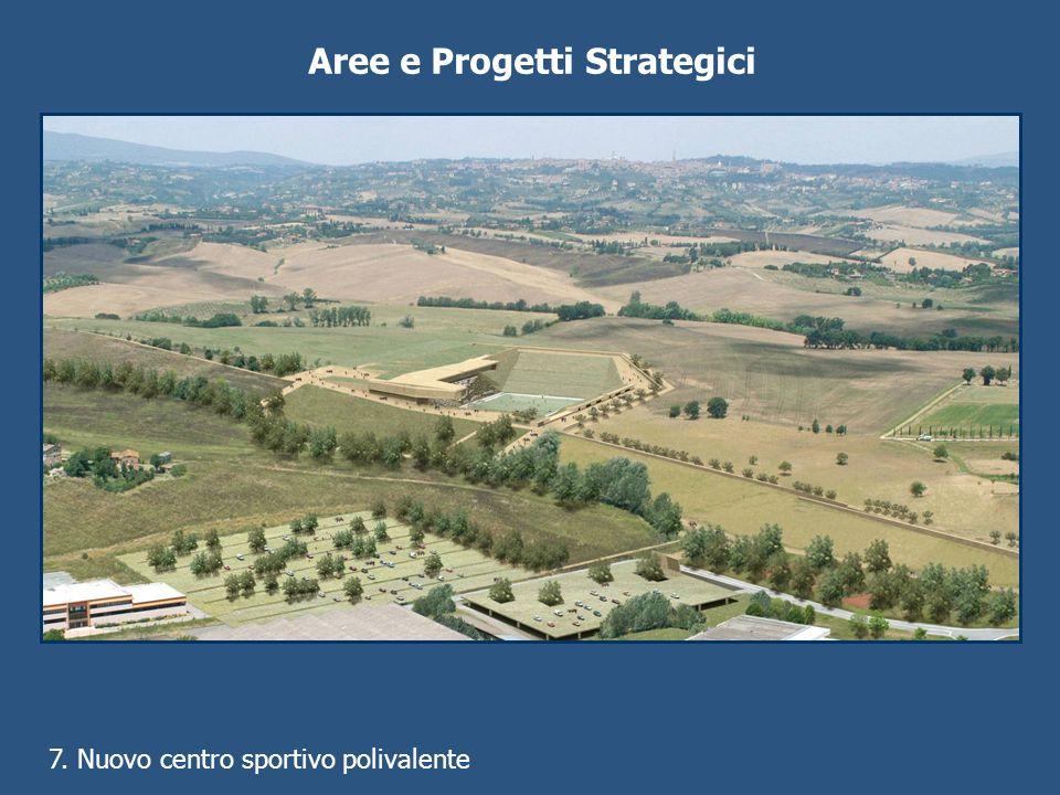 Aree e Progetti Strategici 7. Nuovo centro sportivo polivalente