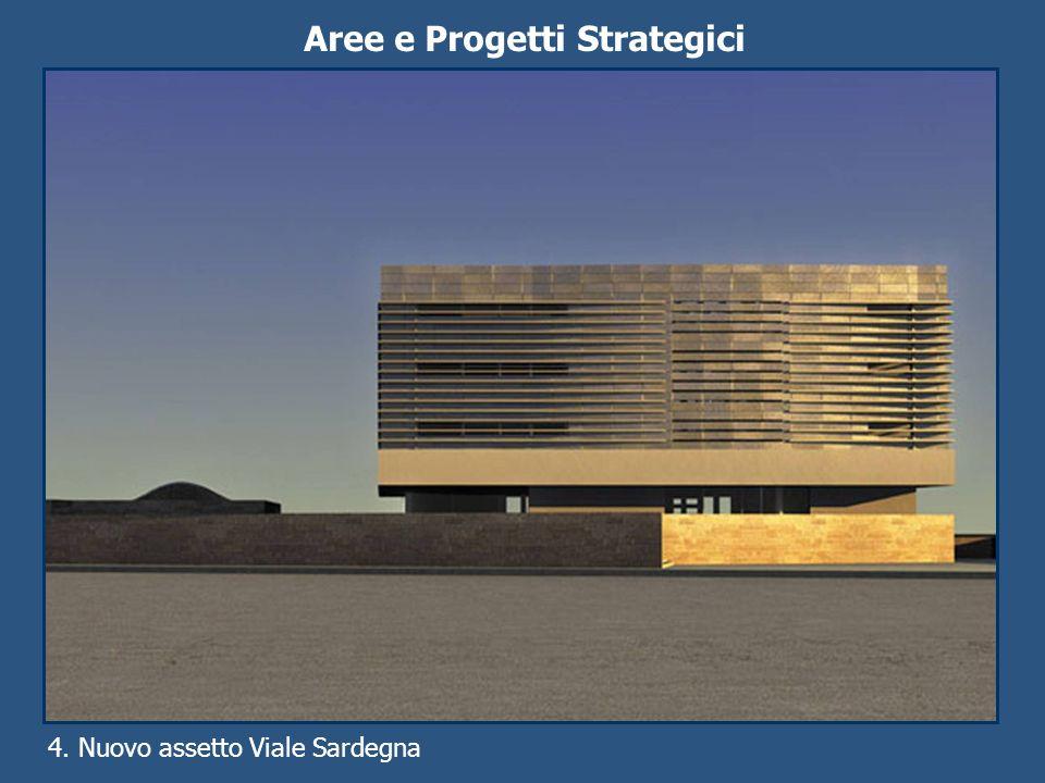Aree e Progetti Strategici 4. Nuovo assetto Viale Sardegna