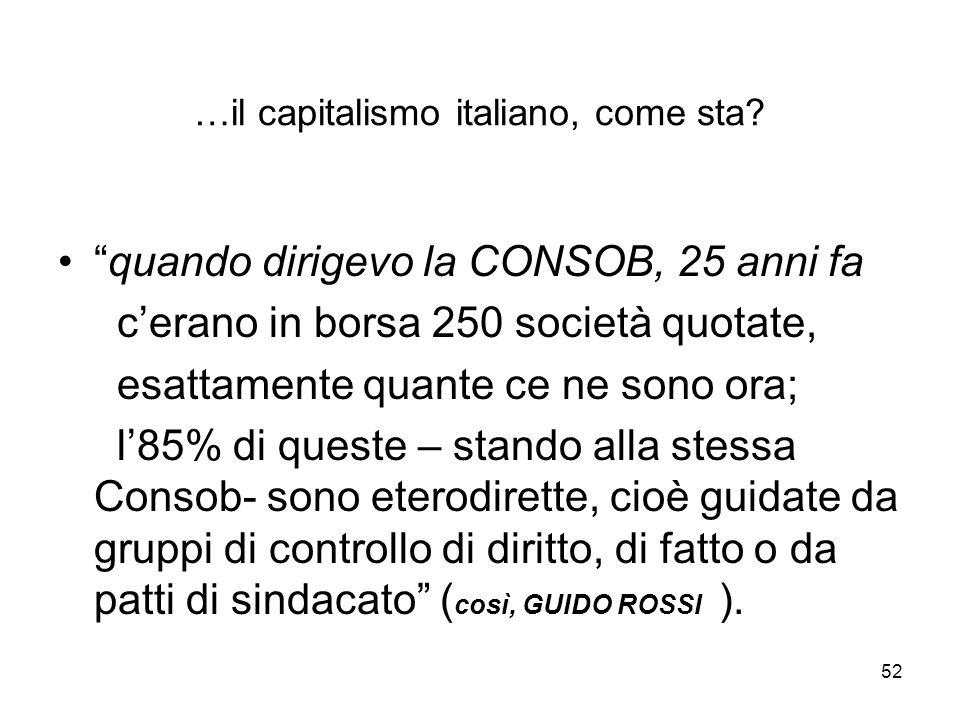 52 …il capitalismo italiano, come sta.