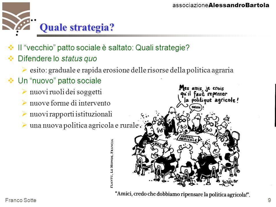 associazione AlessandroBartola Franco Sotte 9 Quale strategia.