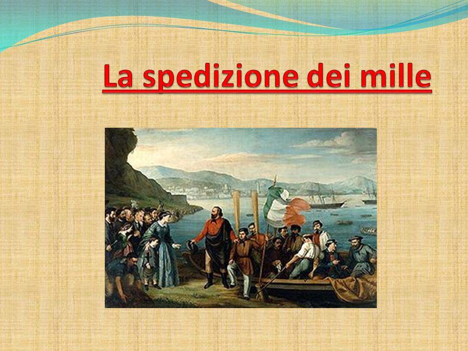 In poche parole … È un episodio del risorgimento avvenuto nel 1860 quando un corpo di volontari al comando di Giuseppe Garibaldi partì dalla Liguria con numerosi vascelli, fece una sosta in Toscana per prendere le armi e sbarcò in Sicilia e qui cominciarono le sue battaglie e conquistò il Regno delle Due Sicilie.