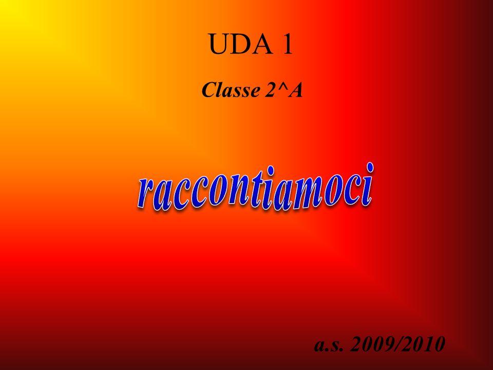 a.s. 2009/2010 UDA 1 Classe 2^A