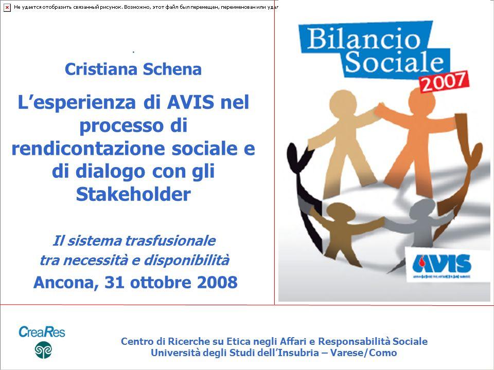 Centro di Ricerche su Etica negli Affari e Responsabilità Sociale Università degli Studi dellInsubria – Varese/Como.