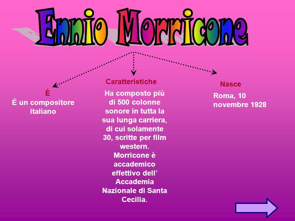 Nasce É Caratteristiche Roma, 10 novembre 1928 É un compositore italiano Ha composto più di 500 colonne sonore in tutta la sua lunga carriera, di cui