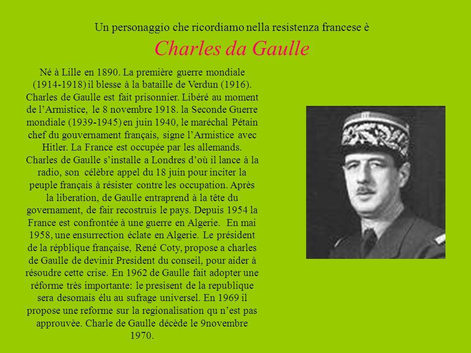 Né à Lille en 1890. La première guerre mondiale (1914-1918) il blesse à la bataille de Verdun (1916). Charles de Gaulle est fait prisonnier. Libéré au