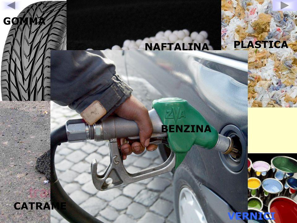 PLASTICA GOMMA VERNICI CATRAME NAFTALINA BENZINA