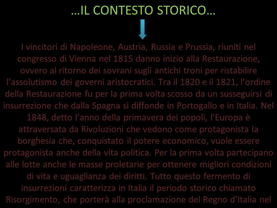 La Giovine Italia (o Giovane Italia) fu un associazione politica insurrezionale fondata a Marsiglia nel luglio 1831 da Giuseppe Mazzini (democratico)